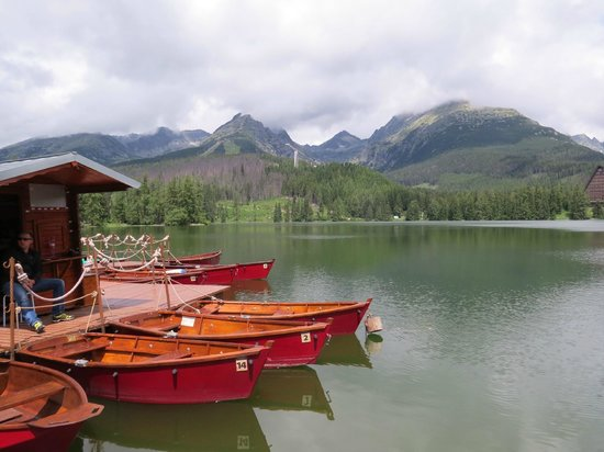 Štrbské Pleso, Slovensko: When the clouds lifted