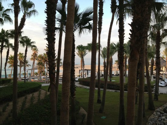 Hilton Los Cabos Beach & Golf Resort: View from second floor room.