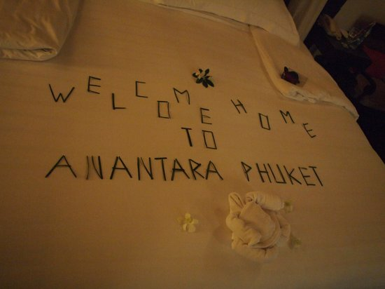 Anantara Mai Khao Phuket Villas: Welcome surprise