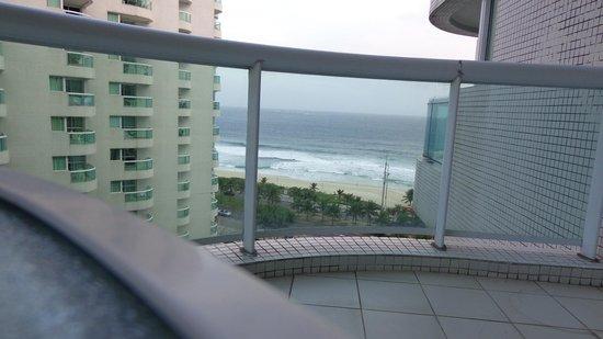 Sheraton Barra Rio de Janeiro Hotel: sacada do apto.