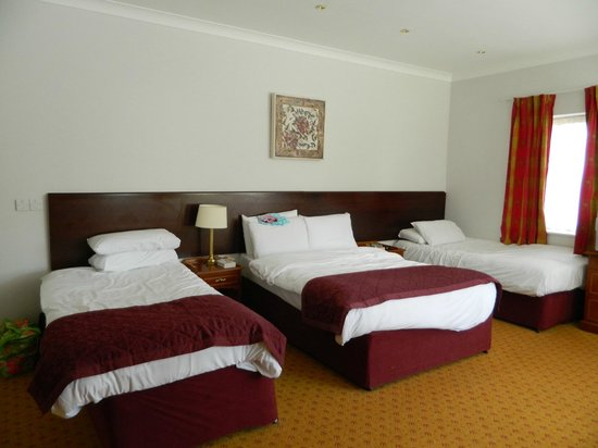Wilton Hotel Bray: One side of the large family room