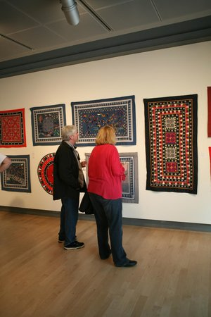 Visitors at Missoula Art Museum