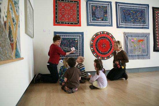 Missoula Art Museum art education with preschoolers