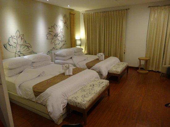 Bussaba Bangkok: chambre pour 4
