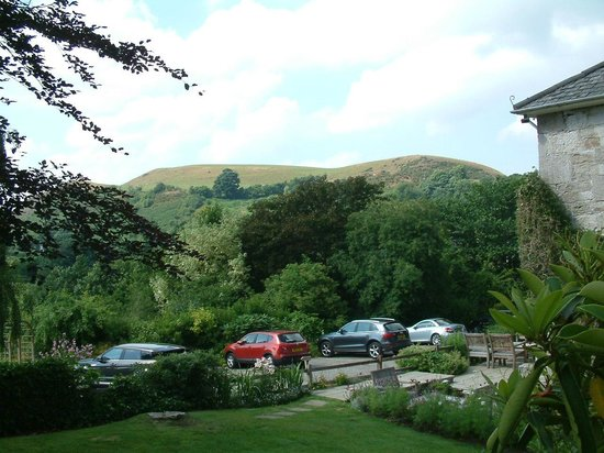 Pen-y-Dyffryn Country Hotel : view from the hotel