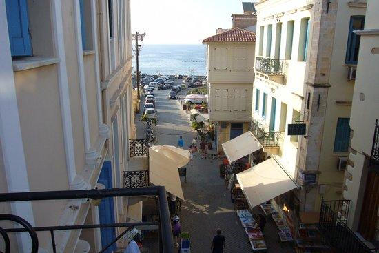 Casa Veneta : View from top floor towards the harbour