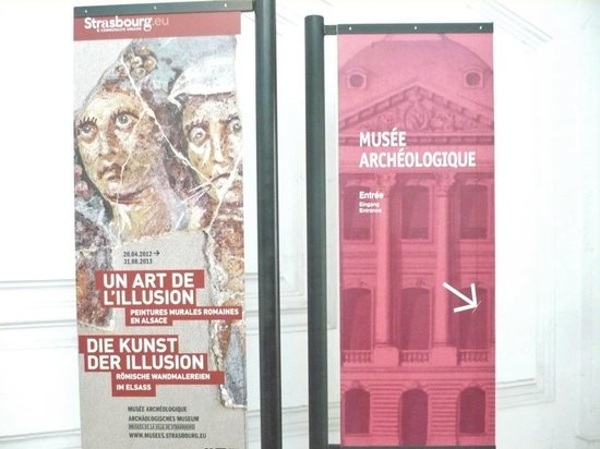 Musee Archeologique: Free entrance on the first Sunday of the month