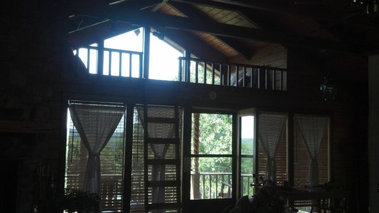 Red Bud Valley Resort: View of the porch and loft
