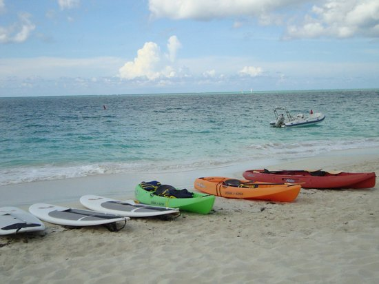 Seven Stars Resort & Spa: free kayaks