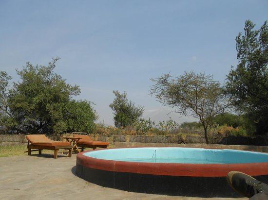 Natron River Camp: Piscine