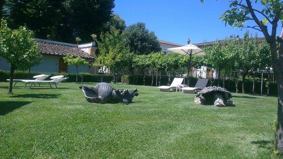Villa Olmi Firenze : Pool garden area