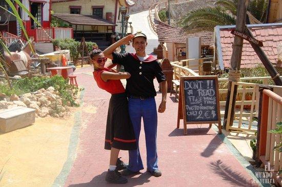 Popeye y olivia nos saludan picture of popeye village malta popeye village malta popeye y olivia nos saludan thecheapjerseys Gallery