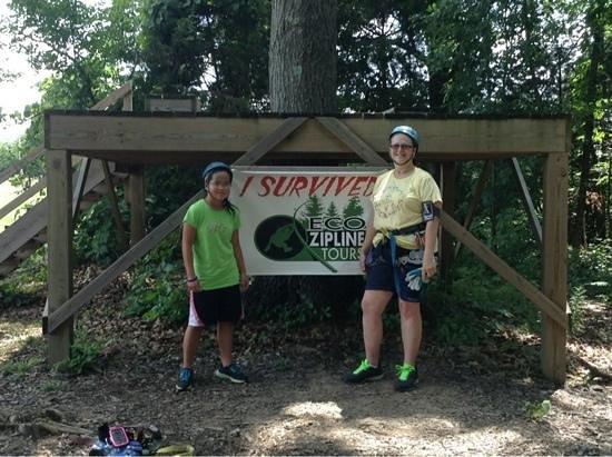 Eco Zipline Tours, New Florence, MO