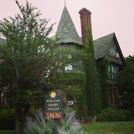 The William Henry Miller Inn: The lovely William Henry Miller Inn