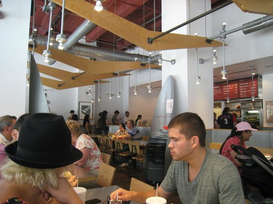 Chipotle Mexican Grill: People enjoying their food