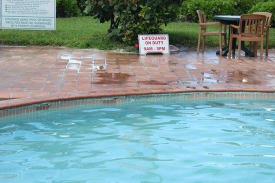 Island Seas Resort: bordes de la picina rotos