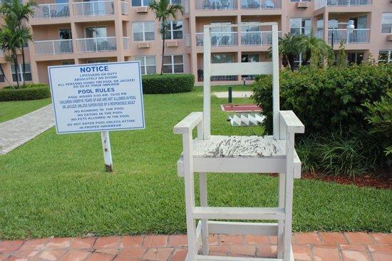 Island Seas Resort: bajo mantenimiento