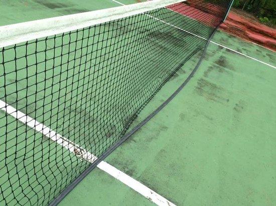 Island Seas Resort: Cancha de tenis