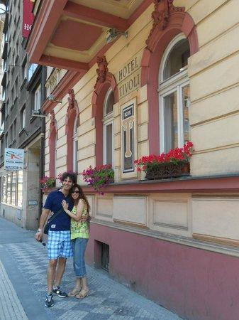Tivoli Hotel Prague: Ingresso Hotel
