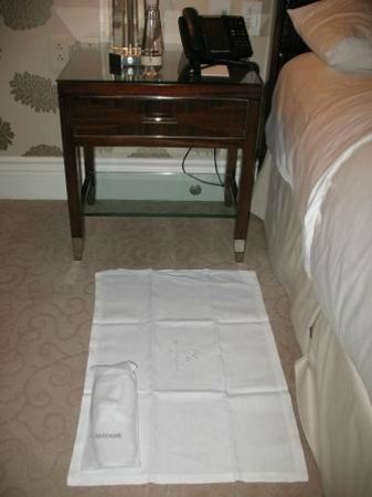 The Ritz-Carlton, Montreal : Turndown service