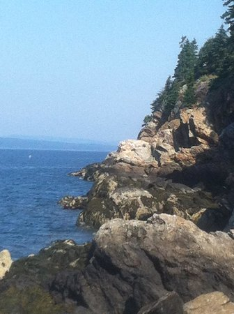 Pentagoet Inn: Lighthouse Trail and View