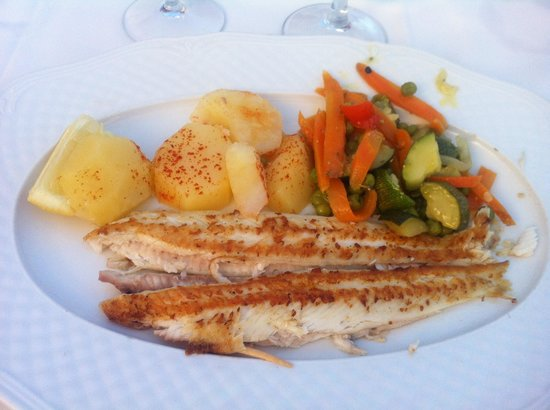La Gritta: I could have cooked this and I'm a rubbish cook. €28 this cost me
