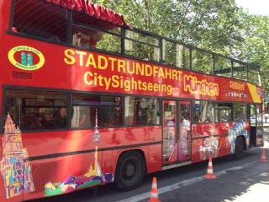 CitySightSeeing Munchen : CitySightseeing Bus