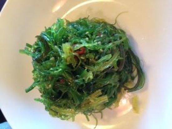Saketome Sushi: Delicious Seaweed Salad