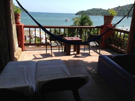 Aura del Mar Hotel : View of Acupulco room deck