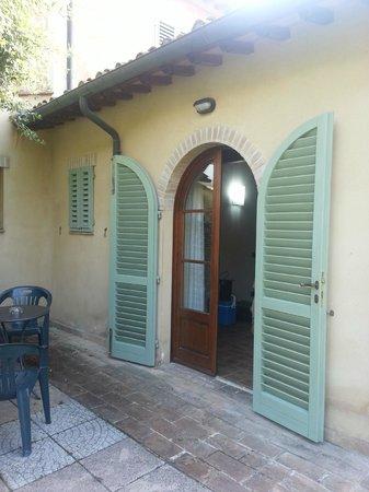 Antico Borgo il Cardino: chambre 14 accès terrasse