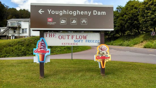 The Outflow Soft Freeze: Loacted at the entrance to the Youghiogheny Dam
