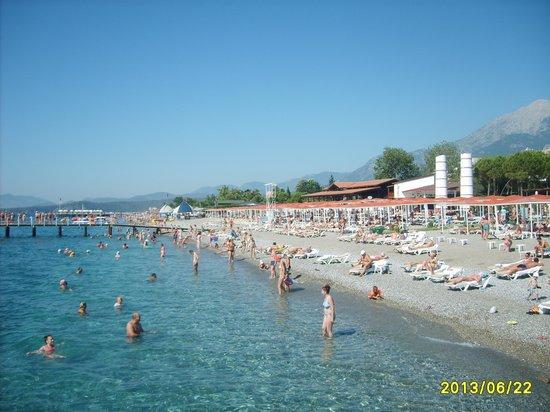 PGS Kiris Resort : Чудесный пляж.