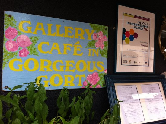 Gallery cafe Gort co Galway