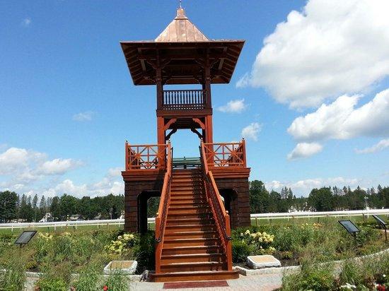 Whitney Viewing Stand, Oklahoma Track, Saratoga Springs NY