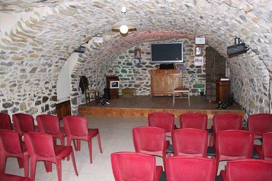 La Ferme Théâtre : la salle voutée