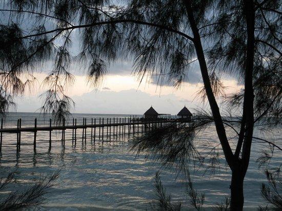 Spice Island Hotel Resort Zanzibar: Jettibar bei Sonnenaufgang