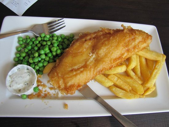 The Ice Wharf: Fish´n Chips