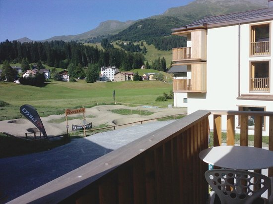 """Bestzeit Lifestyle & Sport Hotel: The """"pump track"""" for mountain bikers"""