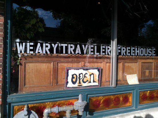 Weary Traveler Incorporated: Greeting from the street