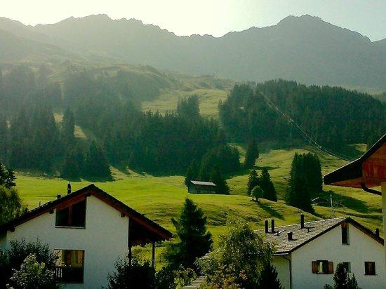 Bestzeit Lifestyle & Sport Hotel: View from balcony toward the mountains