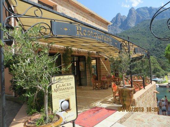 Restaurant le Belvedere: Entrée du restaurant