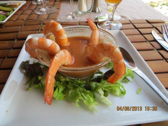 Restaurant le Belvedere: Une entrée