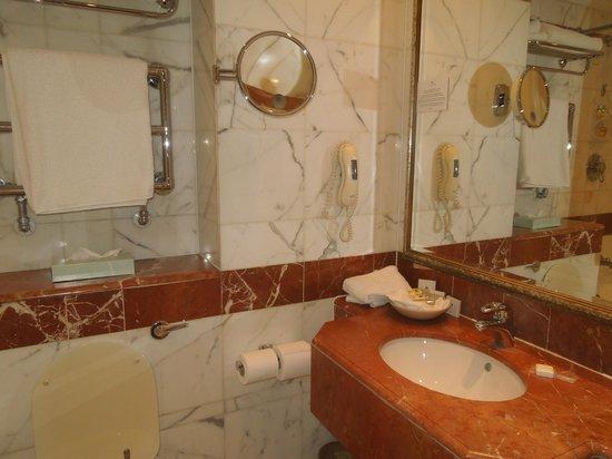 Millennium Hotel London Mayfair : Vista del baño de la habitacion