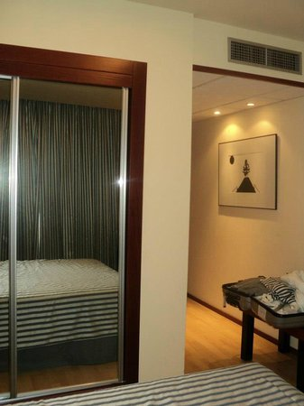 Hotel Olympia : Habitación matrimonio.