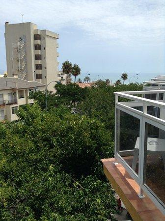 Hotel Don Paquito: Вид с балкона отеля