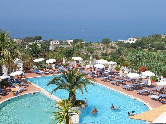 Paradiso Terme Resort & Spa: veduta piscina golfo