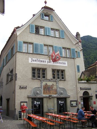 Zunfthaus zur Rebleuten : The hotel