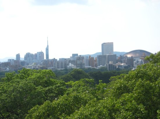 View on Fukuoka from Fukuoka Castle Ruins - Picture of ...