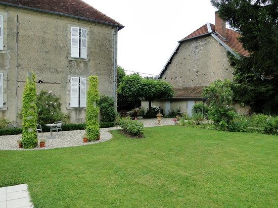 Chambre d'hotes Rosabonheur : Tuin