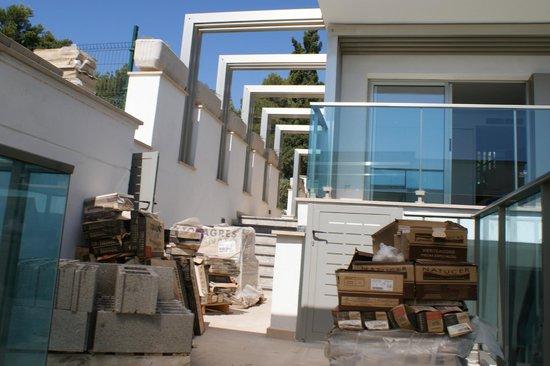 Aparthotel Porto Drach : access to our apartment!